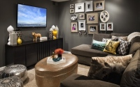 телевизор в интерьере гостиной фото