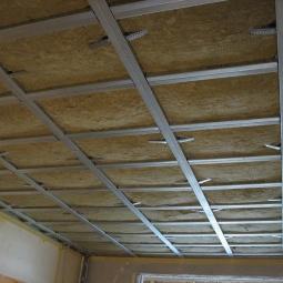 Звукоизоляци потолка в квартире фото