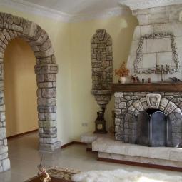 Красиво отделанная арка - украшение квартиры