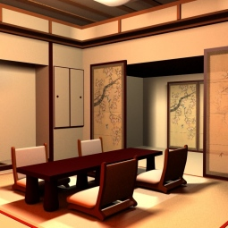 Интерьер в японском стиле - простота, сдержанность, функциональность