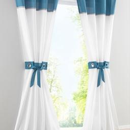 Модные способы оформления окон шторами