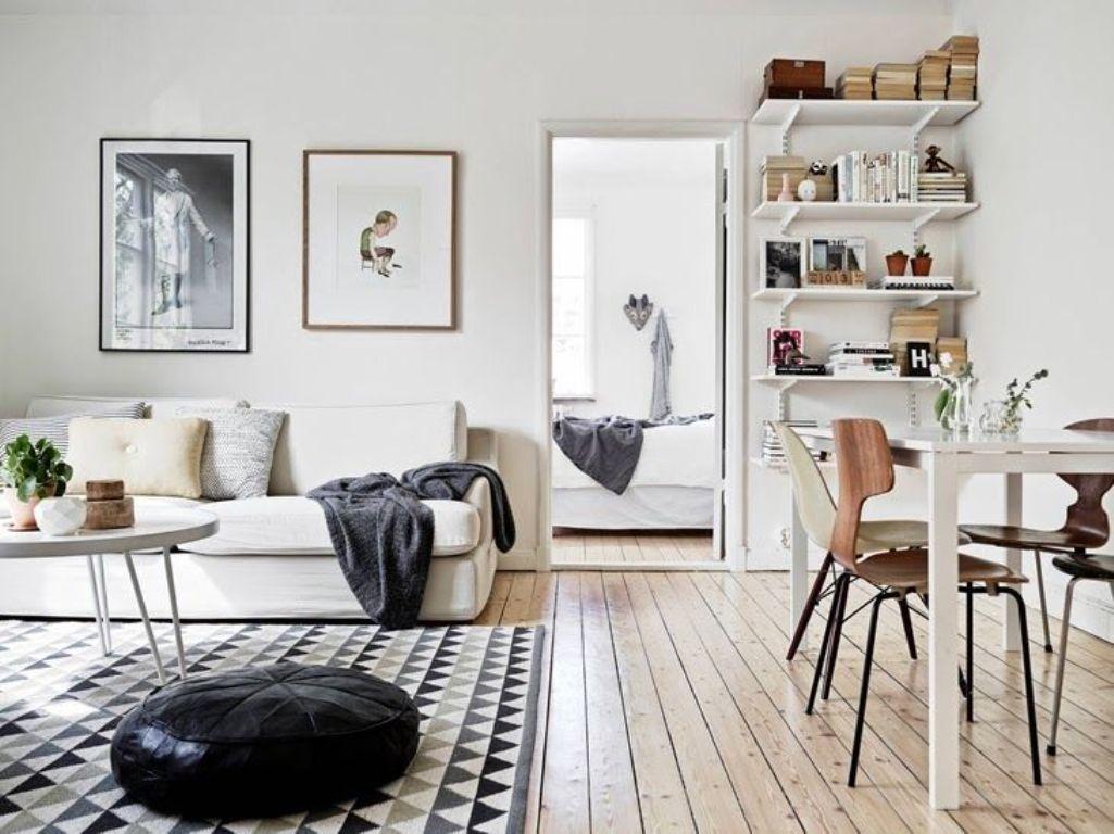 Преобладание белого цвета - характерная черта скандинавского стиля