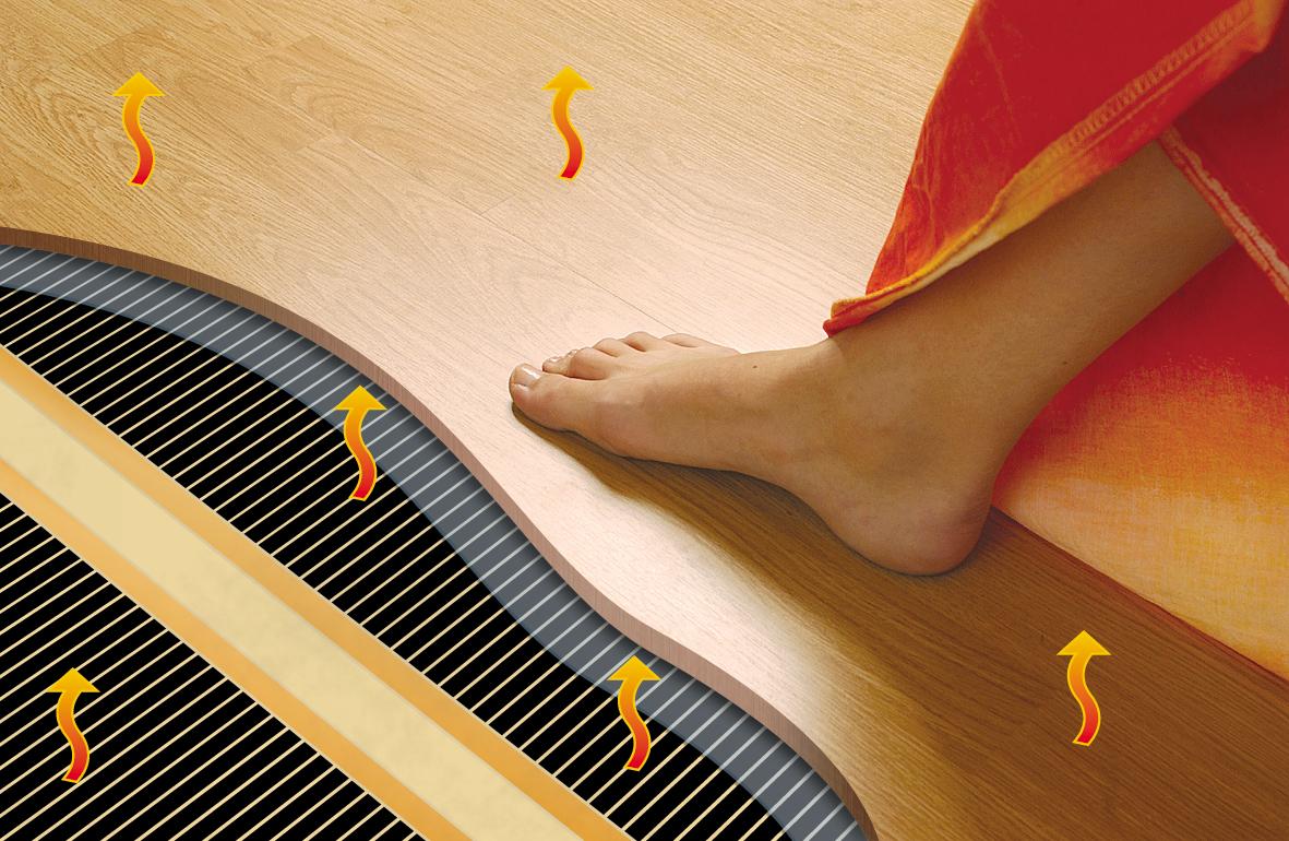 Теплый пол - это комфорт в Вашем доме!