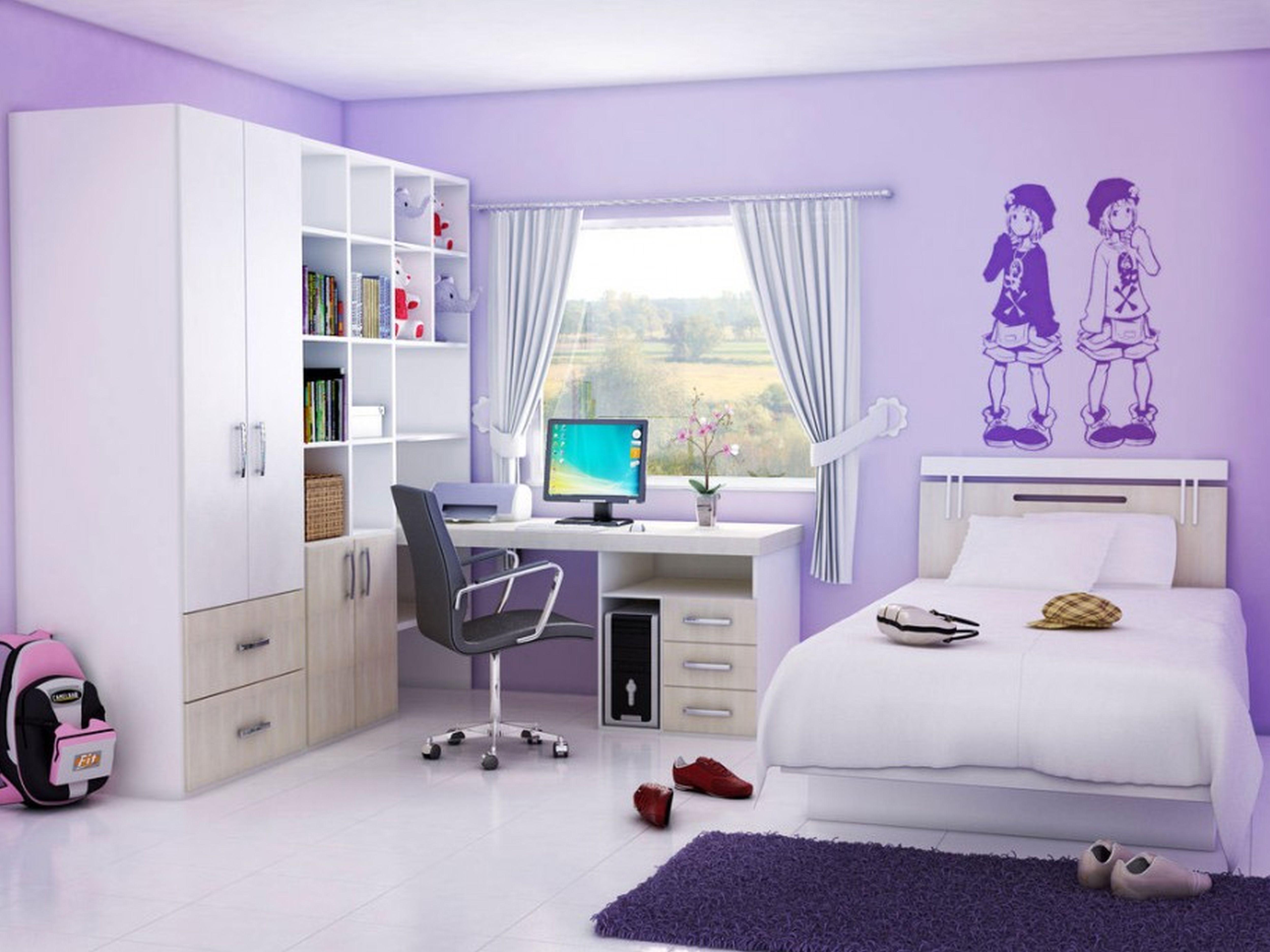 Вариант оформления комнаты для девочки-подростка